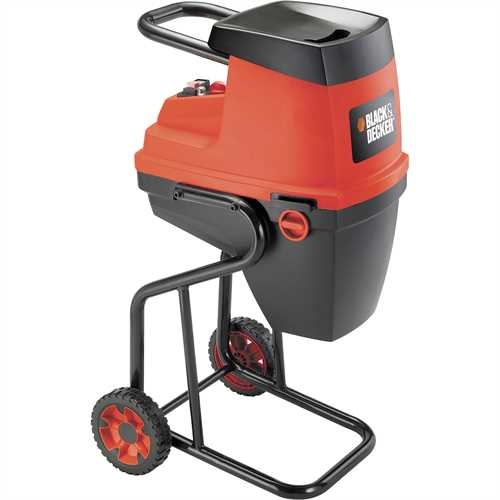 Black and Decker - 2400W Quiet Shredder - GS2400