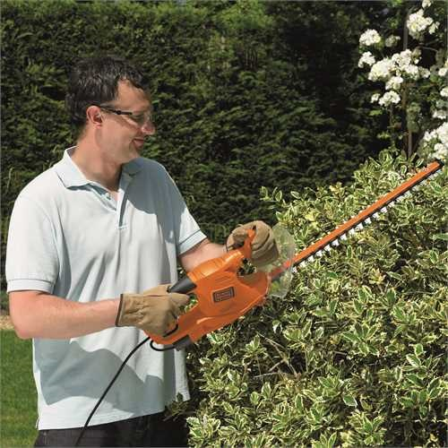 Black and Decker - 50cm 450W Electric Hedge trimmer - GT4550