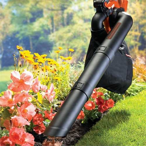 Black and Decker - 36V Lithiumion Cordless Leaf Blower and Vacuum without battery - GWC3600LB