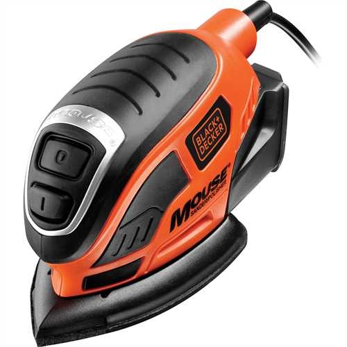 Black and Decker - Mouse Detail Sander   22 Accs - KA1000