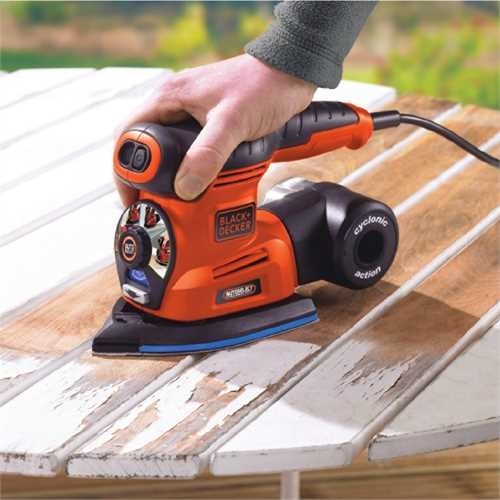 Black And Decker - Autoselect 4 in 1 Multi Sander  18Accs - KA280K