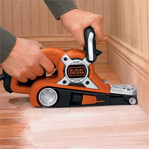 Black and Decker - 720W 75mm x 533mm Belt Sander - KA88
