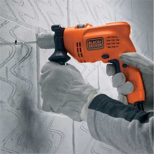 Black and Decker - 500W Percussion Hammer Drill - KR504CRESK