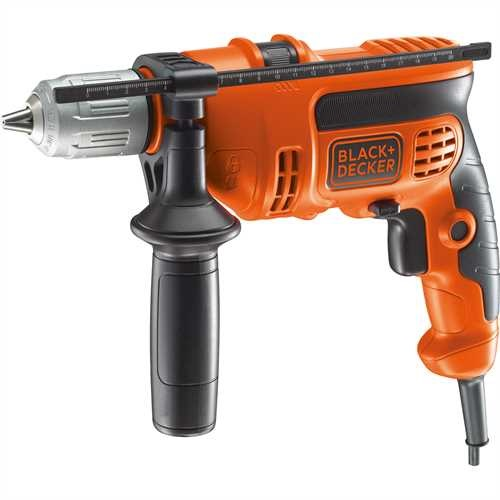 Black and Decker - 600W Percussion Hammer Drill - KR604CRESK