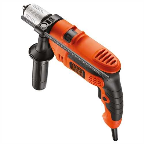 Black and Decker - 710W Corded Hammer Drill with 32 accessories and soft storage bag - KR714S32