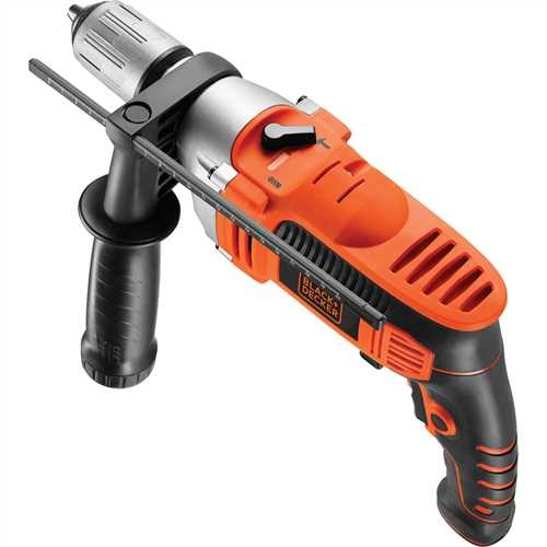 Black and Decker - 800W Percussion Hammer Drill - KR805K