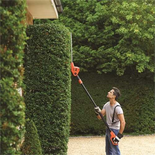 Black and Decker - 51cm 550W Electric Pole hedge Trimmer - PH5551